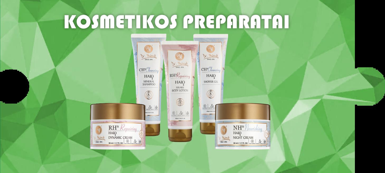 Kosmetikos preparatai